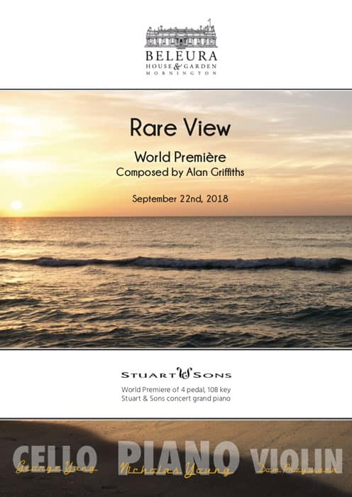 Rare View - Alan Griffiths - Concert Program - Premiere