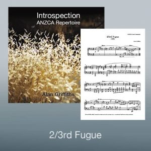 Introspection Sheet Music: 2/3rd Fugue PDF