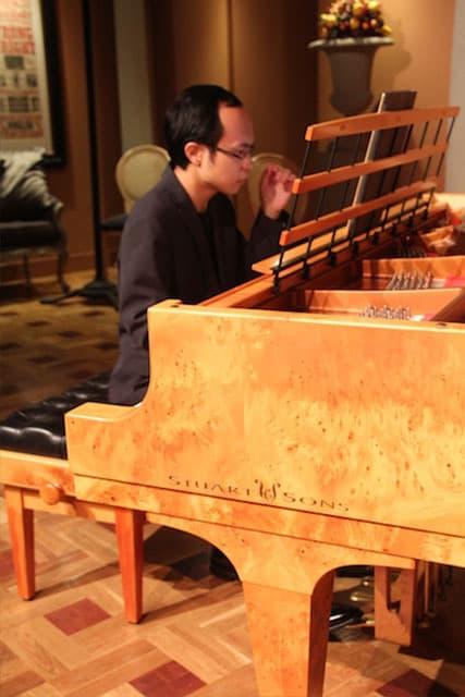 Nicholas Young at the Piano