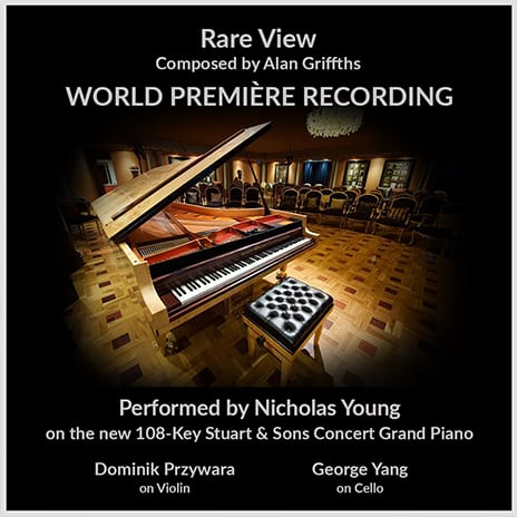 Rare View World Premiere Recording - Nicholas Young - Alan Griffiths