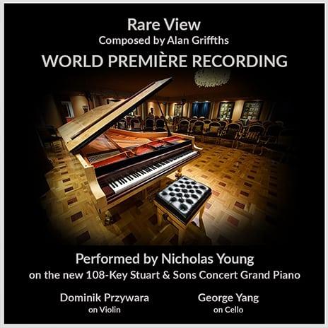 Rare View World Premiere Recording - Nicholas Young - Alan Griffiths